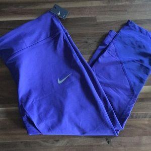 NWT blue Nike Dri-Fit with mesh detail 2x